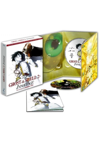 Ghost In The Shell 2 : Innocence (Blu-Ray + Dvd + Extras + Libro) (Ed. Coleccionista) (Ghost In The Shell 2: Innocence)