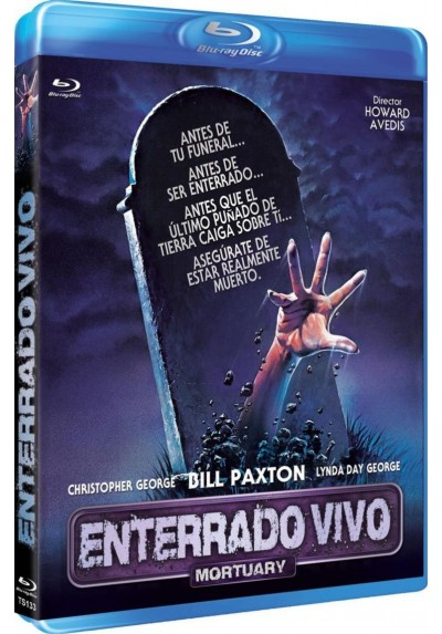 Enterrado Vivo (Blu-Ray) (Mortuary)