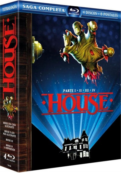 Digipack Lenticular House I-II-III-IV (Blu-Ray)