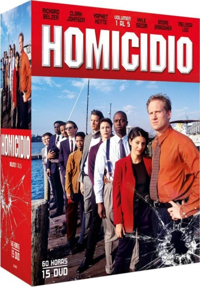 Pack Homicidio - Vol. 1 A 5