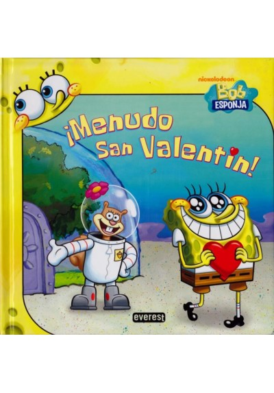 Bob Esponja ¡Menudo San Valentín!