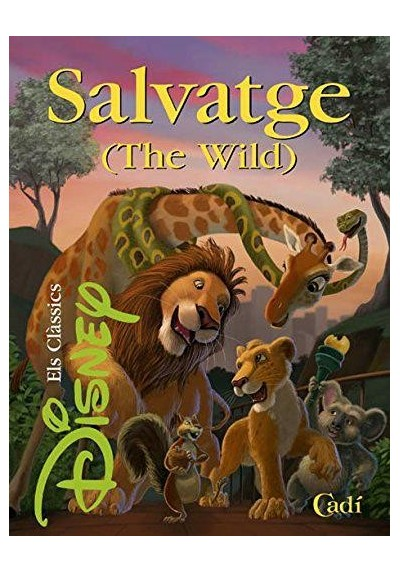 Salvatge (The Wild) (Els clàssics Disney) (Ed.Catalán) (Tapa Dura)