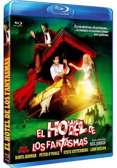 El Hotel De Los Fantasmas (Blu-Ray) (High Spirits)