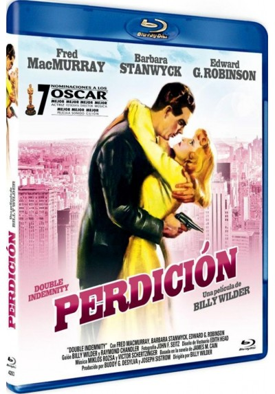 Perdición (Blu-Ray) (Double Indemnity)