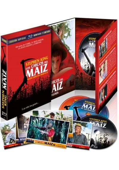 Digipack Los Chicos del Maiz I-II-III (Blu-ray)