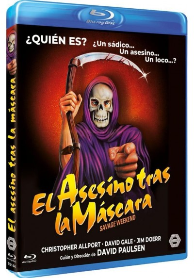 El Asesino Tras La Mascara (Savage Weekend) (Blu-ray)