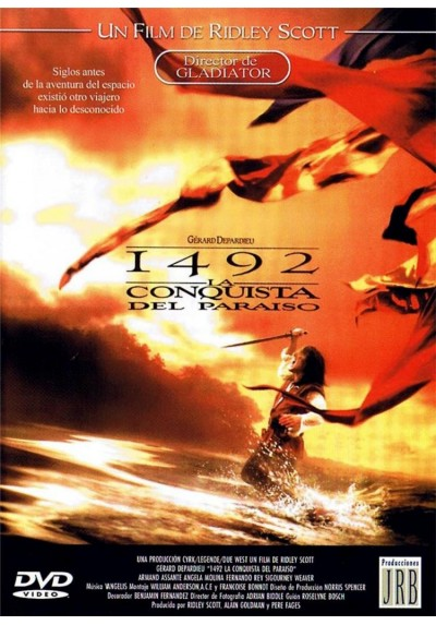Érase Una 1492 : La Conquista Del Paraíso (1492: Conquest Of Paradise) (Estuche Slim)