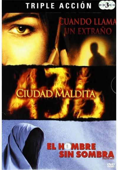 Pack Triple Terror : Cuando Llama Un Extraño / 436 Ciudad Maldita / El Hombre Sin Sombra