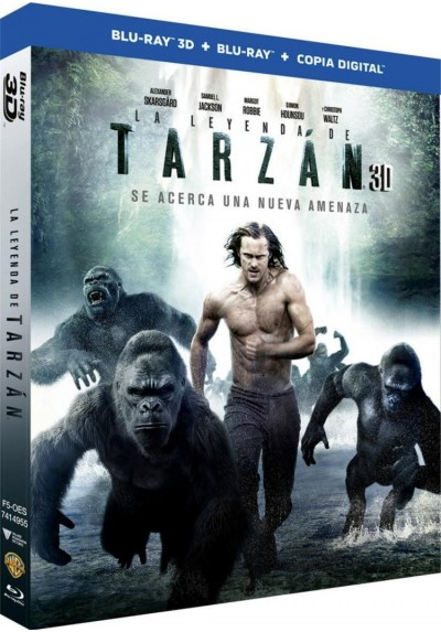 La Leyenda De Tarzan (Blu-Ray 3d + Blu-Ray + Copia Digital) (The Legend Of Tarzan)