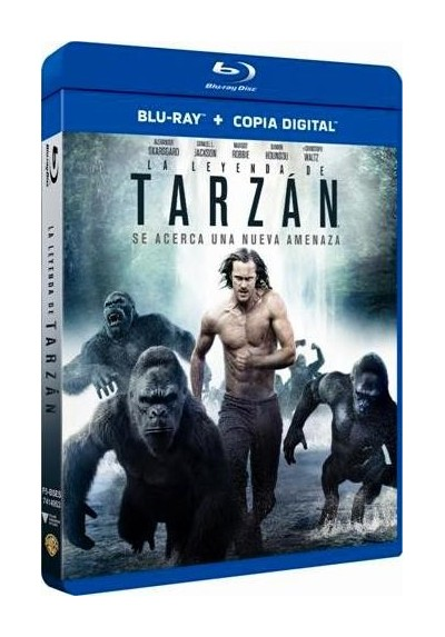 La Leyenda De Tarzan (Blu-Ray + Copia Digital) (The Legend Of Tarzan)