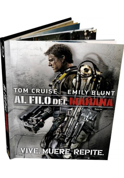 Al Filo Del Mañana (Ed. Libro) (Blu-Ray) (Edge Of Tomorrow)
