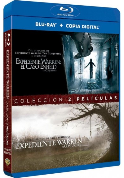 Pack Expediente Warren 1 + 2 (Blu-Ray)