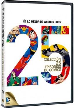 Lo Mejor De Warner Bros : Colección 25 Episodios Dc Cómics