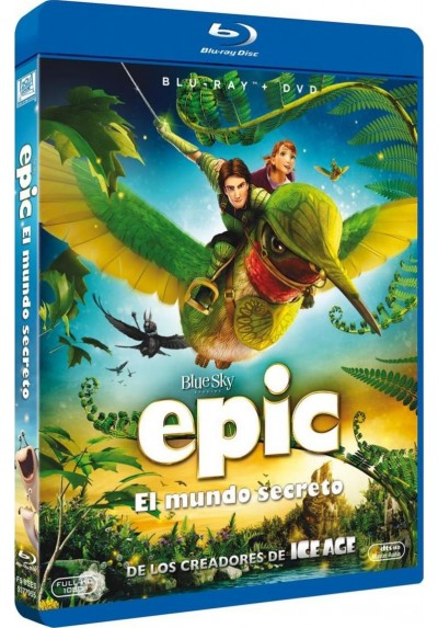 Epic (Blu-Ray + Dvd)