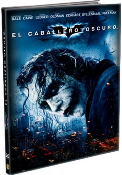 El Caballero Oscuro (Blu-Ray) (Ed. Libro) (The Dark Knight)