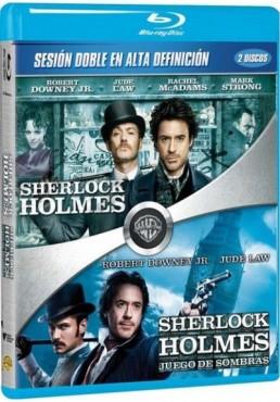 Pack: Sherlock Holmes Y Sherlock Holmes: Juego De Sombras (Blu-ray)