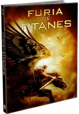 Furia De Titanes (2010) (Blu-Ray) (Ed. Libro) (Clash Of The Titans)