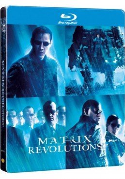 Matrix Revolutions (Blu-Ray) (Ed. Metálica)