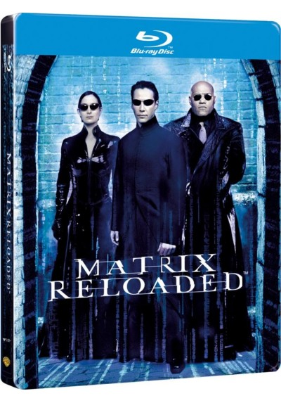 Matrix Reloaded (Blu-Ray) (Ed. Metálica)