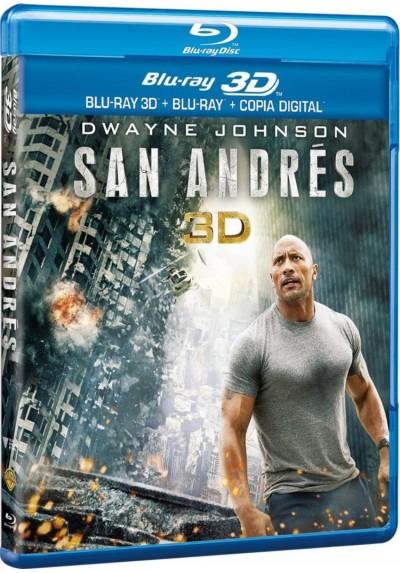 San Andres (Blu-Ray 3d + Blu-Ray + Copia Digital) (San Andreas)
