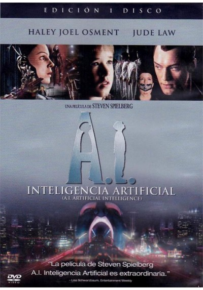 A.I. Inteligencia Artificial (Artificial Intelligence: AI)