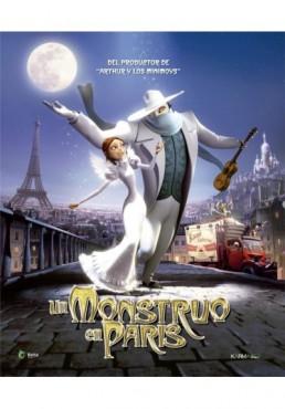 Un Monstruo En París (Blu-Ray) (Un Monstre À Paris)