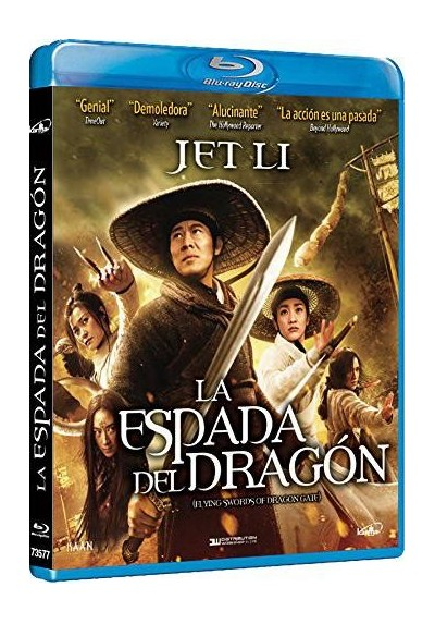 La Espada Del Dragon (Blu-Ray) (The Flying Sworrds Of Dragon Gate)