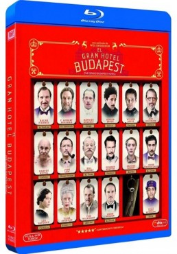 El Gran Hotel Budapest (Blu-Ray)(The Grand Budapest Hotel)