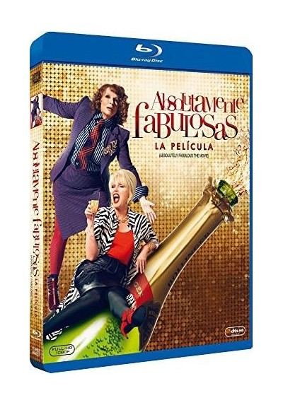 Absolutamente Fabulosas (2016) (Blu-Ray) (Absolutely Fabulous: The Movie)