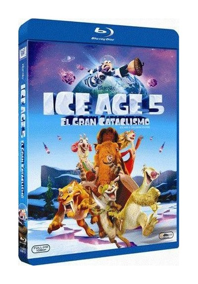 Ice Age 5: El Gran Cataclismo (Blu-Ray) (Ice Age: Collision Course)