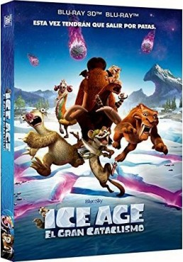 Ice Age 5 : El Gran Cataclismo (Blu-Ray 3d + Blu-Ray) (Ice Age: Collision Course)