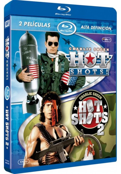 Pack Hot Shots! / Hot Shots 2 (Blu-Ray)