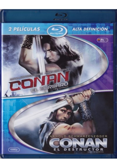 Pack Conan 1 + 2 (Blu-Ray)