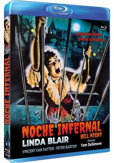 Noche Infernal (1981) (Blu-Ray) (Hell Night)