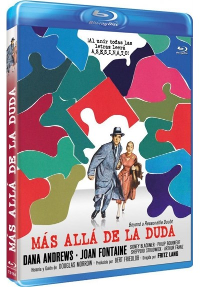 Más Allá De La Duda (1956) (Blu-Ray) (Beyond A Reasonable Doubt)