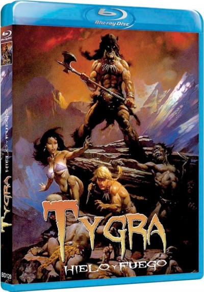 Tygra: Hielo Y Fuego (Blu-Ray) (Fire And Ice)