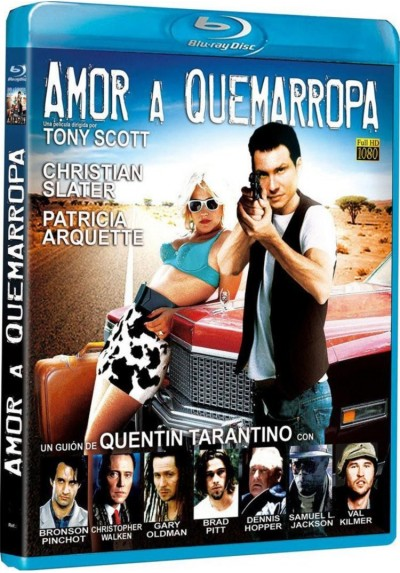 Amor A Quemarropa (Blu-Ray) (True Romance)