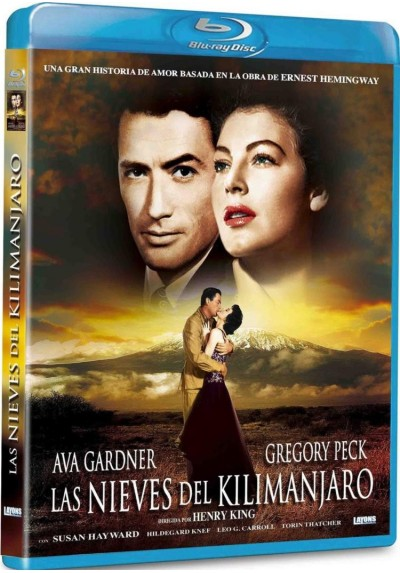Las Nieves Del Kilimanjaro (Blu-Ray) (The Snows Of Kilimanjaro)