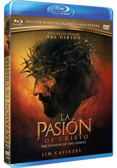La Pasión De Cristo (Blu-Ray + Dvd Extras) (The Passion Of The Christ)
