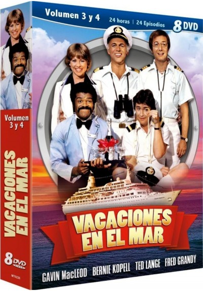 Pack Vacaciones En El Mar - Vol. 3+4