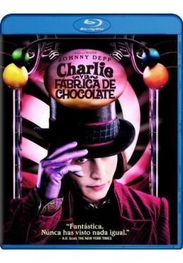 Charlie Y La Fábrica De Chocolate (Blu-Ray) (Charlie And The Chocolate Factory)