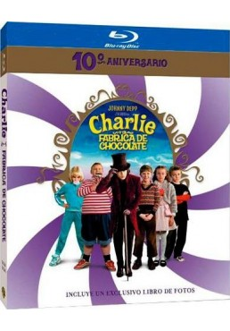 Charlie Y La Fábrica De Chocolate (Blu-Ray) (Ed. 10º Aniversario) (Charlie And The Chocolate Factory)
