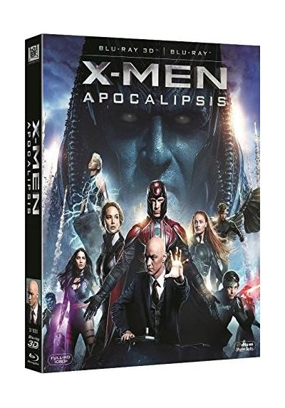 X-Men : Apocalipsis (Blu-Ray 3d + Blu-Ray) (X-Men: Apocalypse)