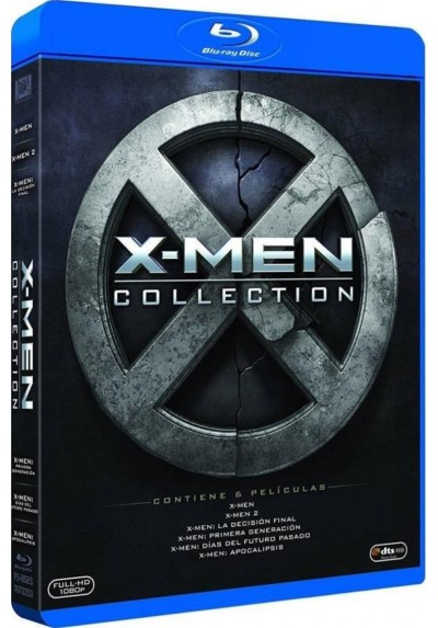 Pack X-Men: Collection (Blu-Ray)