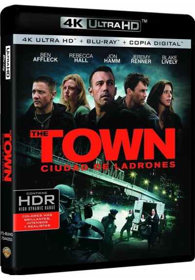 The Town (Ciudad De Ladrones) (Blu-Ray 4k Ultra Hd + Blu-Ray + Copia Digital)