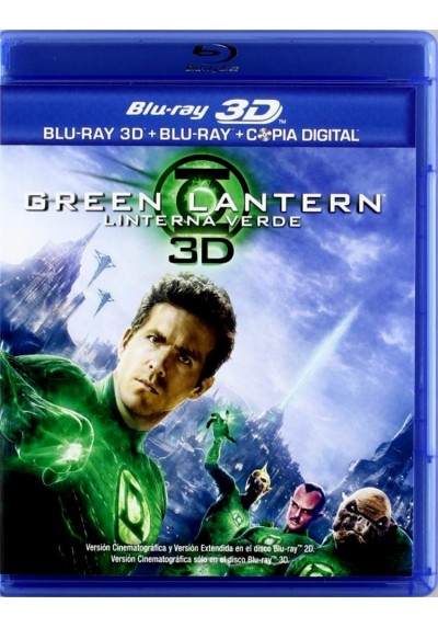 Green Lantern (Linterna Verde) (Blu-Ray 3d + Blu-Ray + Copia Digital)