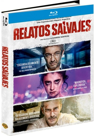 Relatos Salvajes (Blu-Ray) (Ed. Libro)