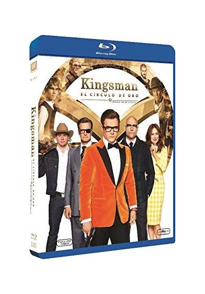 Kingsman: El Círculo De Oro (Blu-Ray) (Kingsman: The Golden Circle)
