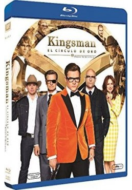 Kingsman: El Círculo De Oro (Blu-Ray) (Kingsman: The Golden Circle)