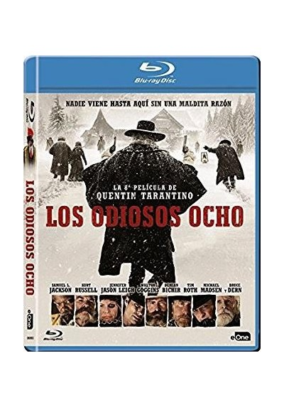 Los Odiosos Ocho (Blu-Ray) (The Hateful Eight)